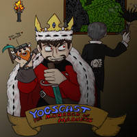 Yogscast - Monarch of Madness by DordtChild