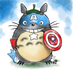 Captain totoro by Veebster