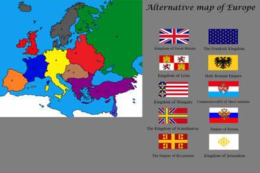 Alternative Map Of Europe.Alternative Map Of Europe By Rzeczpospolita2018 On Deviantart