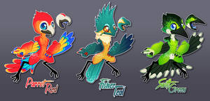 [Closed] The Colors of the Birbs by Seoxys6