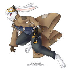 Bunny Anthro [C] by Seoxys6