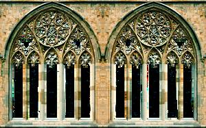 Gothic Window Arches by LilipilySpirit