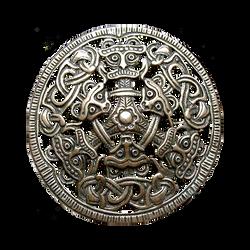 Ancient Nordic Borre Beasts jewelry element by LilipilySpirit