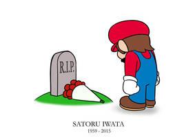 RIP Satoru Iwata by Brother-Tico