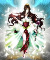 Queen Goddess Hera by lordaphaius28