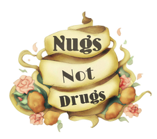 Chicken Nugget Tattoo - Nugs Not Drugs! by SugarHit