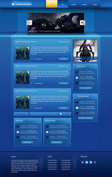 CreationJeuxJava - Java games and tutorials layout by FloxDesign