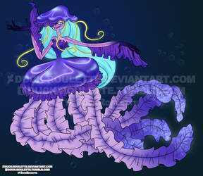 Muirgel the Sea Witch by Duck-Roulette