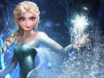 Elsa the Snow Queen by typeATS