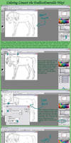 OUTDATED Coloring Lineart Tutorial by RebeccaStapp