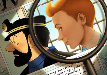 Tintin by lydia-the-hobo
