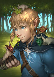 Legend of Zelda- Korok Party by lydia-the-hobo