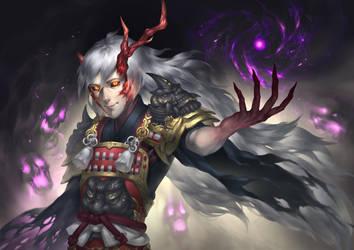 Onmyoji- Ibaraki Doji by lydia-the-hobo