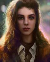 Portrait #009 by mehdic
