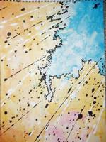watercolor F by drewbruschi
