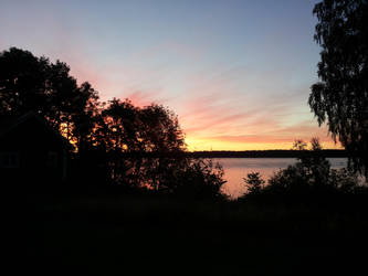 Sunset Sweden 2014 by Myhstic