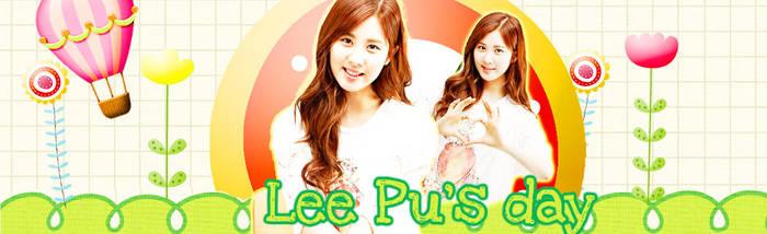 Happy birthday to Lee Pu by hyhamhap