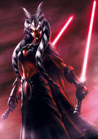 Ahsoka the sith by Senetay