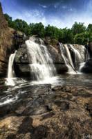 High Falls Vertical HDR by jnati