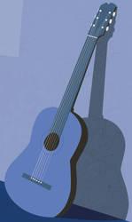Blue Guitar by devonsego