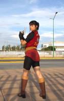 Claire Redfield - RE2 by LeenaCruz