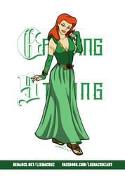Ivy Tyrell - Poison Ivy by LeenaCruz