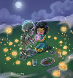 Day of the Dead - Lovesong by LeenaCruz