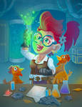Gnomish Experimenter by LeenaCruz