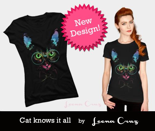 Cat knows it all by LeenaCruz