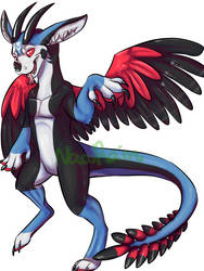 Axel the Dutch Angel Dragon for Dragon by NaosRain