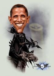 Obatman, the Dark Knight by IsraLlona