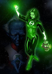 Green Lantern by IsraLlona