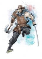 Cowboy-Ninja-Viking by IsraLlona