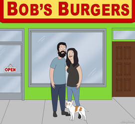 Bob's Burgers Family Commission by RoslynnSommers