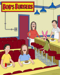Bob's Burger's Family Restaurant Commission by RoslynnSommers