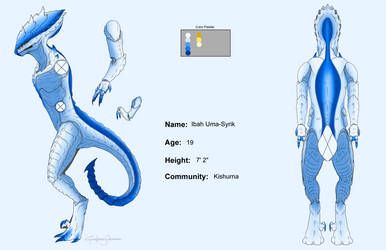 Ibah Reference sheet by RoslynnSommers