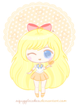 Sweety Dolly Chibi - Sailor Venus by SquiggleCakes