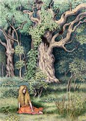 Forest Girl by WillemSvdMerwe