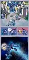 Luna Finds a Friend by WillDrawForFood1
