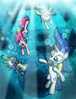 Swimming by WillDrawForFood1