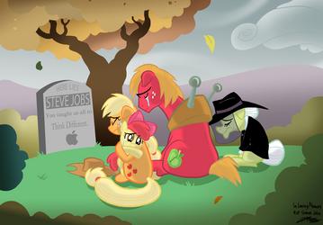 Apple Memorial by WillDrawForFood1