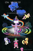 1 Year of Ponies by WillDrawForFood1