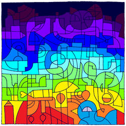Colors of the rainbow by Mew-Aqua