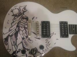 FLCL Guitar 2 by SimplySaraArt