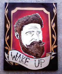 wake up by SimplySaraArt