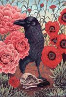 Crow Effigy by AngelaRizza
