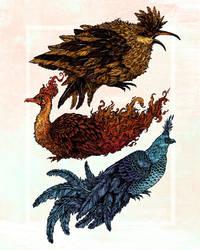 Legendary Birds by AngelaRizza