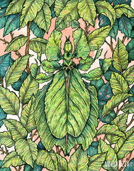 Leaf Mimic by AngelaRizza
