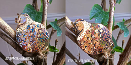 Pudge Bird Pins by AngelaRizza