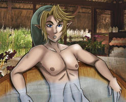 TP Link: Relaxing bath by undermate2005